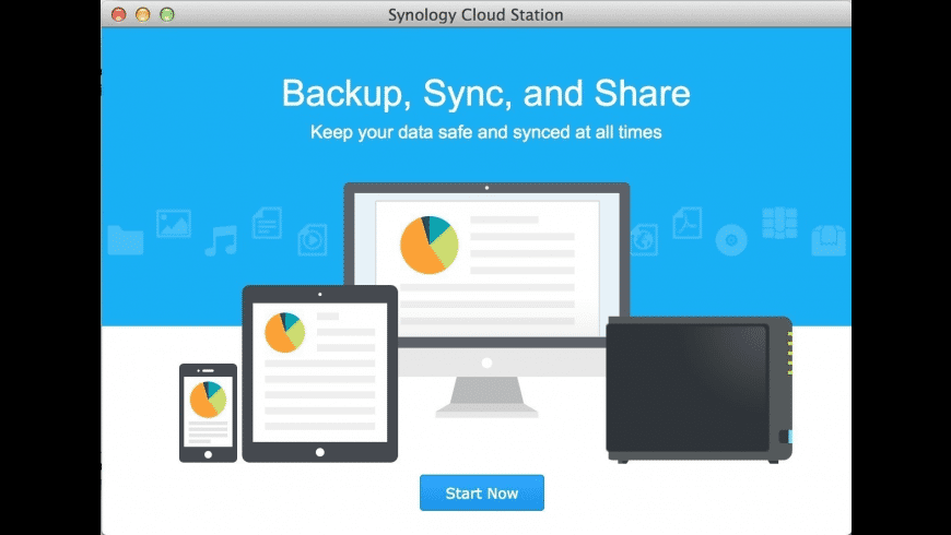 Synology Cloud Station Drive for Mac - review, screenshots