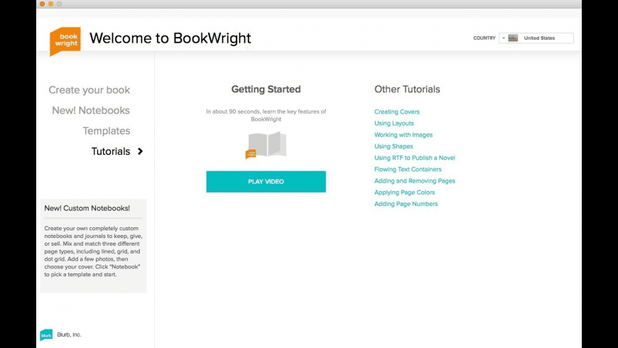 BookWright for Mac - review, screenshots