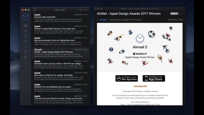 Airmail for Mac - review, screenshots