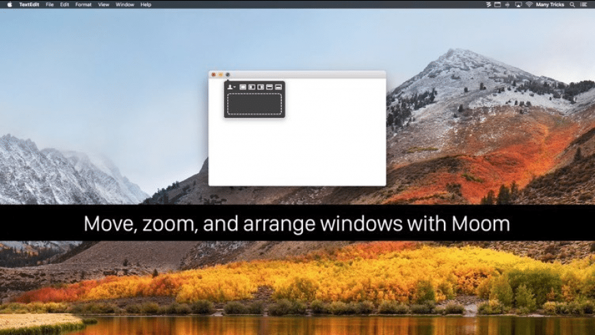 Moom for Mac - review, screenshots