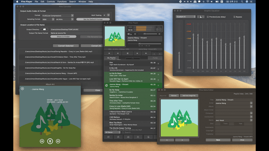 Pine Player for Mac - review, screenshots
