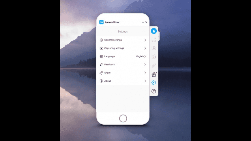 ApowerMirror for Mac - review, screenshots