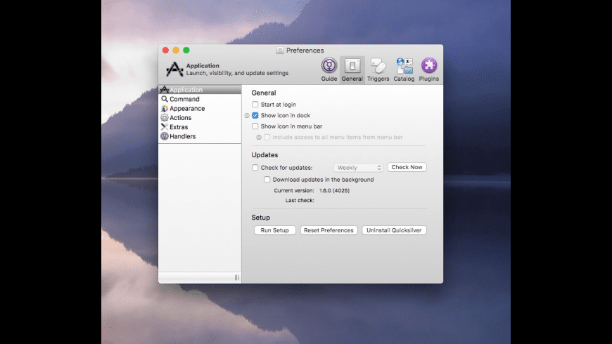 Quicksilver for Mac - review, screenshots