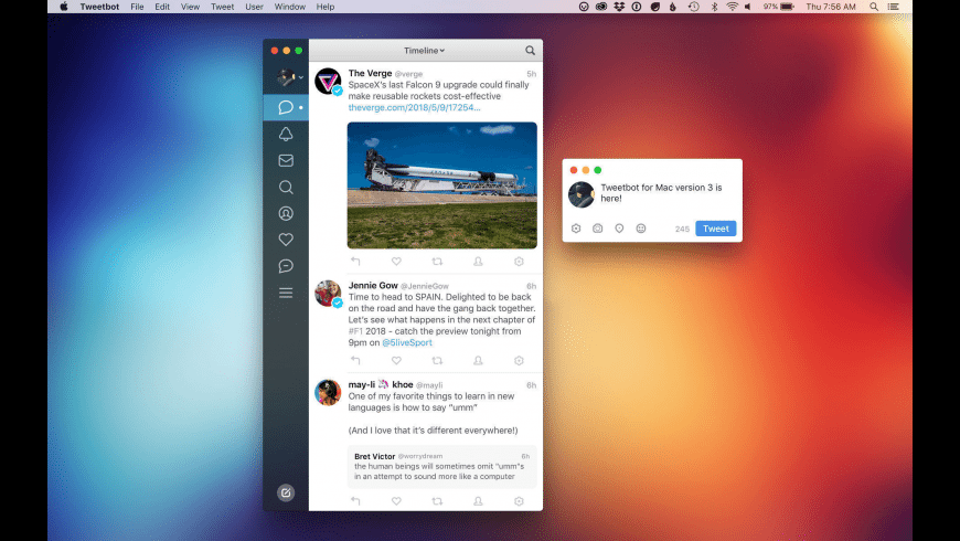 Tweetbot for Mac - review, screenshots