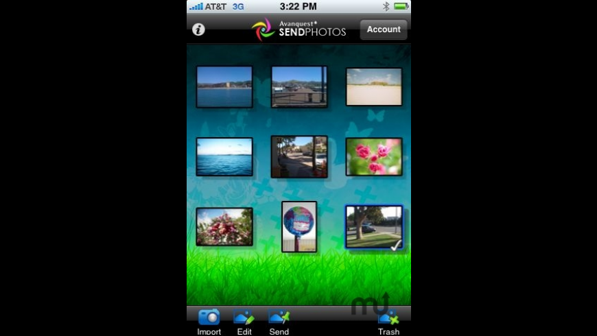 SendPhotos for Mac - review, screenshots