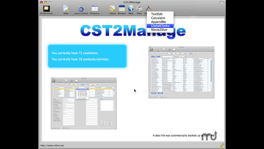 CST2Manage for Mac - review, screenshots