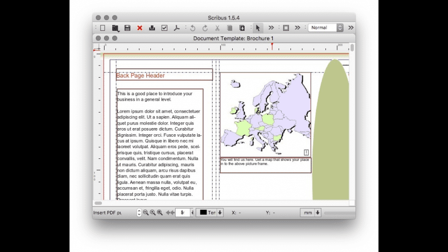 Scribus for Mac - review, screenshots