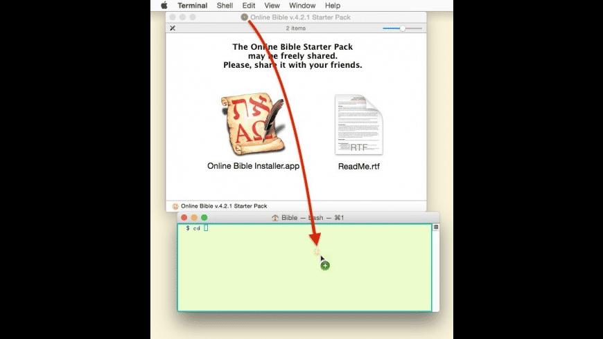 Online Bible for Mac - review, screenshots
