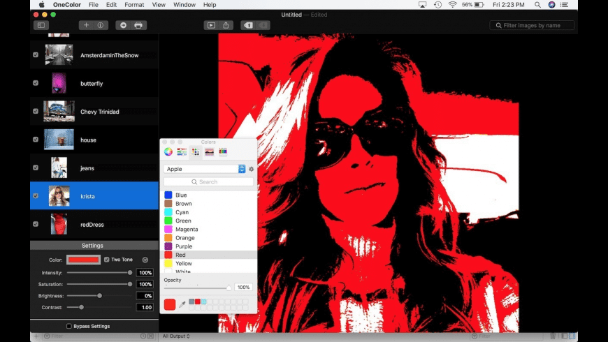 One Color for Mac - review, screenshots