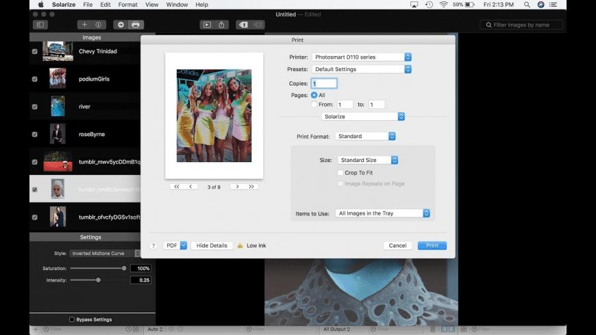 Solarize SX for Mac - review, screenshots