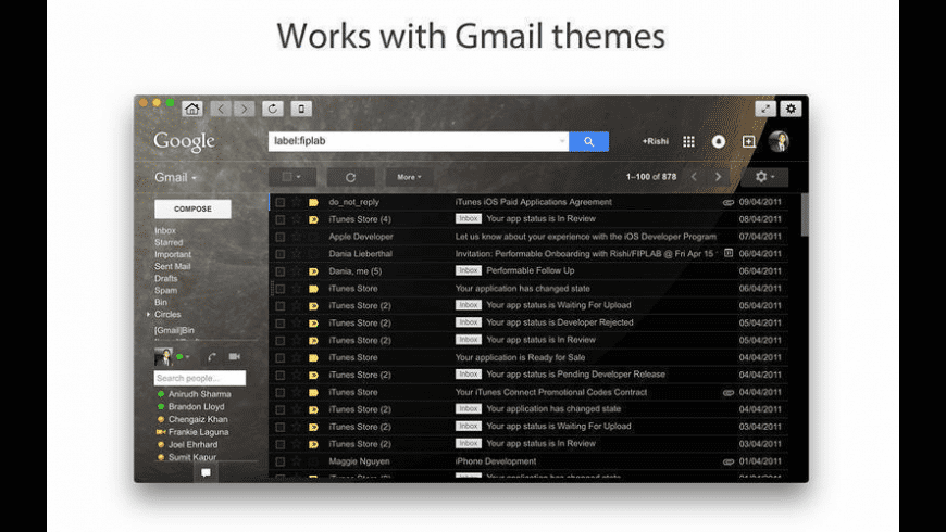 Go for Gmail for Mac - review, screenshots