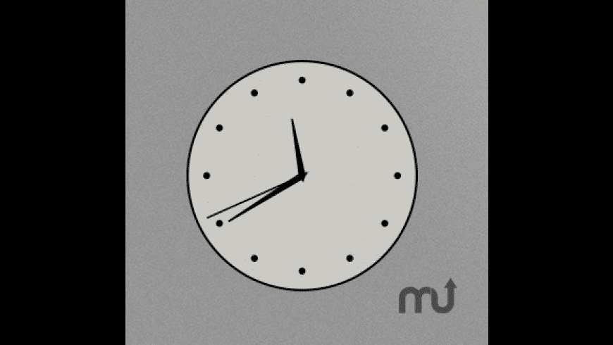 Simple Floating Clock for Mac - review, screenshots