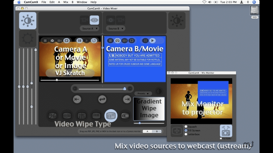 CamCamX for Mac - review, screenshots