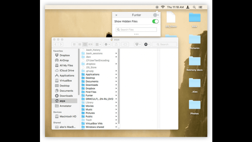 Funter for Mac - review, screenshots