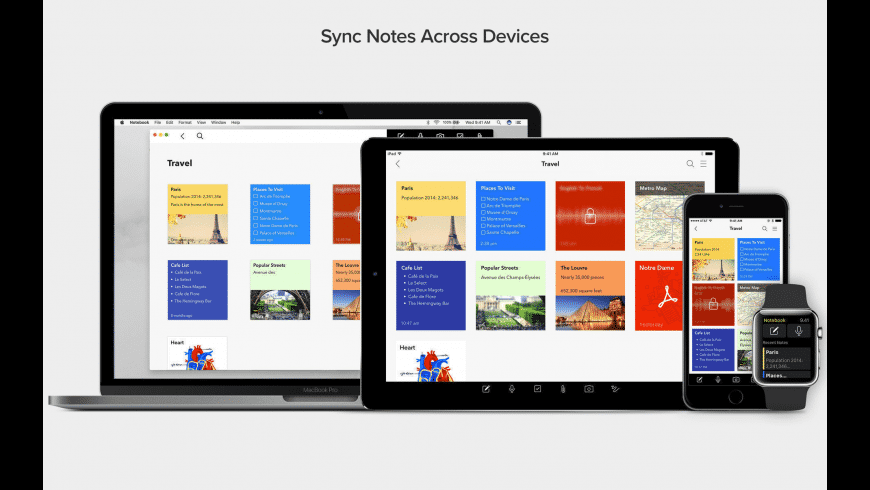 Notebook for Mac - review, screenshots