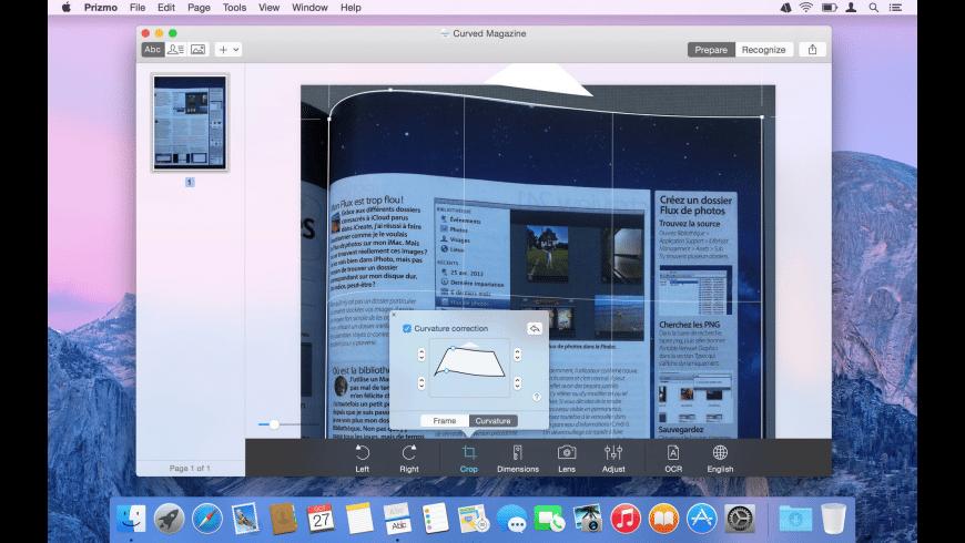 Prizmo for Mac - review, screenshots
