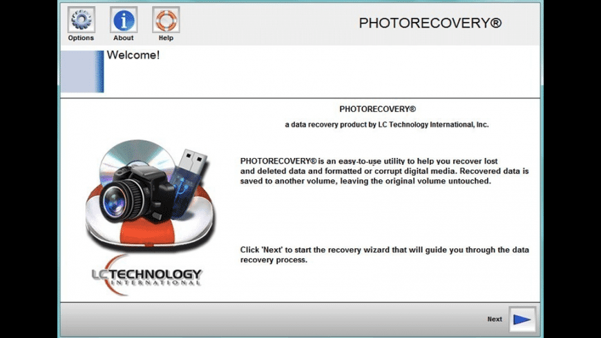 PHOTORECOVERY Standard for Mac - review, screenshots