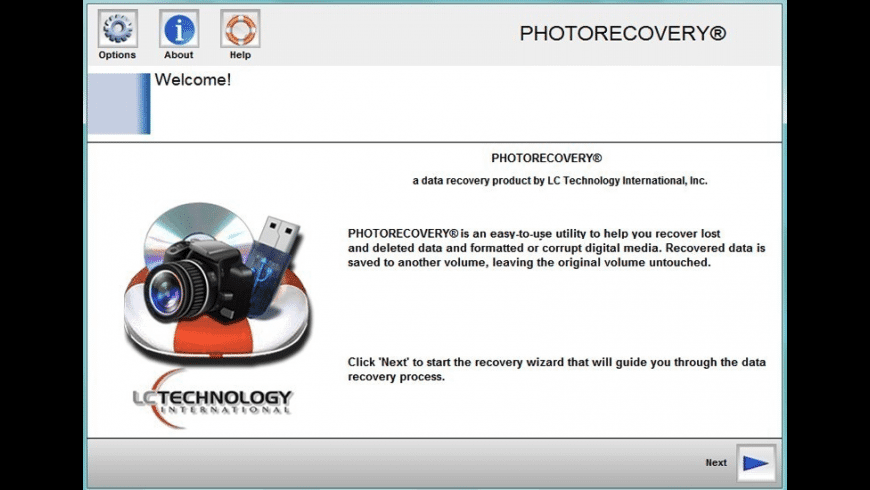 PHOTORECOVERY Professional for Mac - review, screenshots