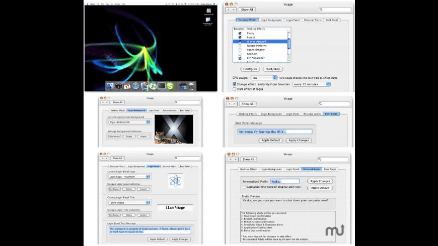 Visage for Mac - review, screenshots