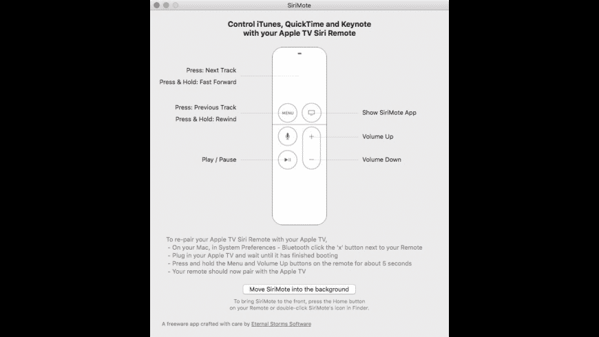 SiriMote for Mac - review, screenshots