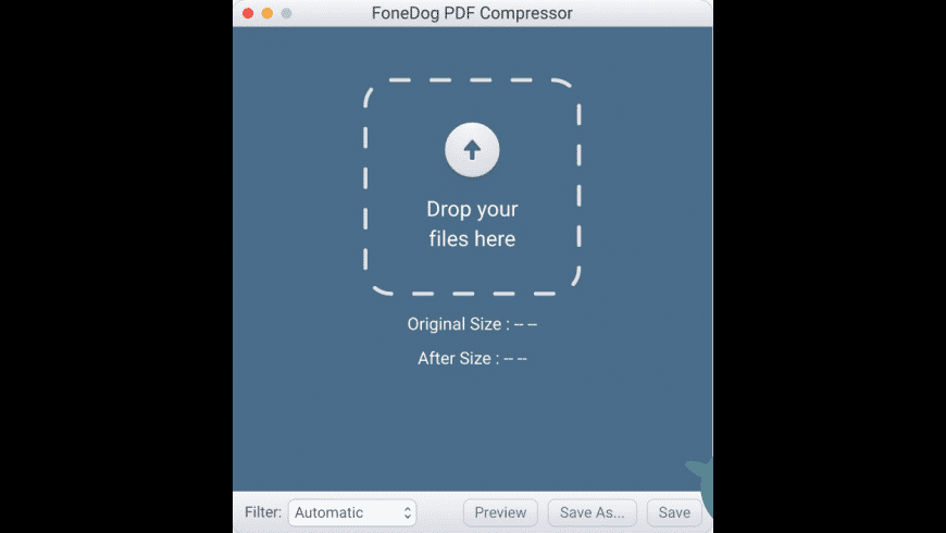 FoneDog PDF Compressor for Mac - review, screenshots
