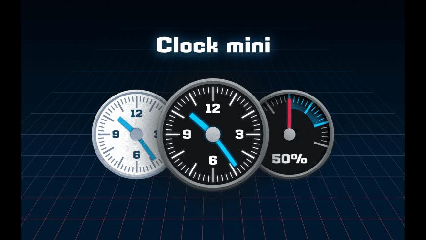 Clock mini for Mac - review, screenshots