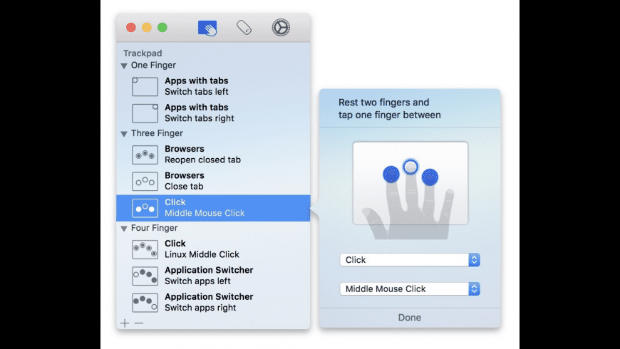 Multitouch for Mac - review, screenshots