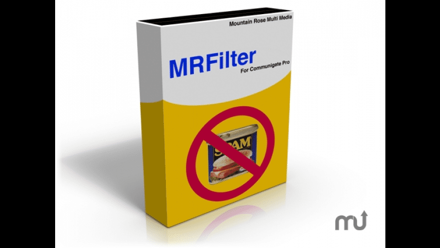 MRFilter for Mac - review, screenshots