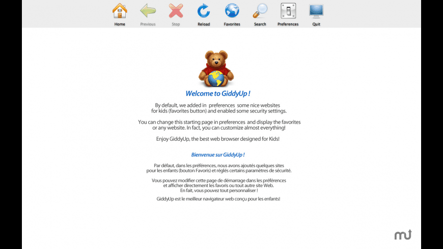 GiddyUp for Mac - review, screenshots