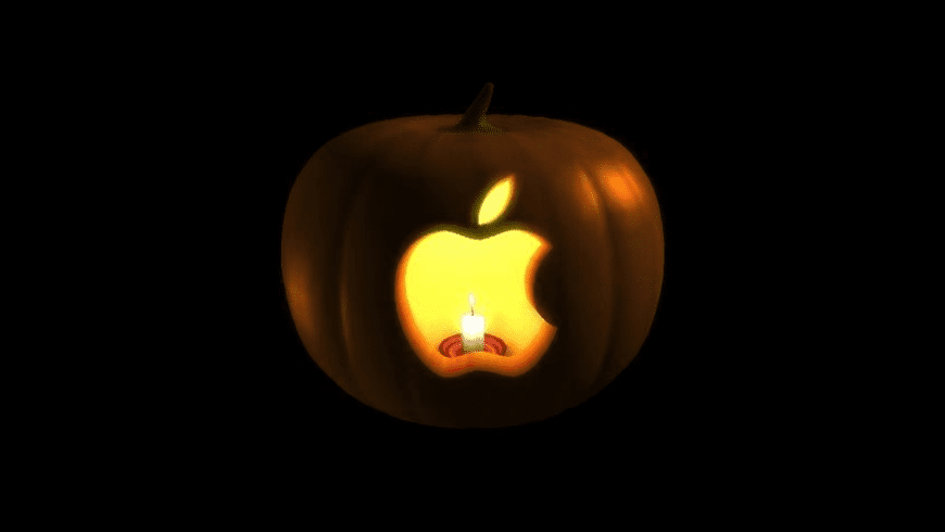 Jack-O-Lantern Screensaver for Mac - review, screenshots
