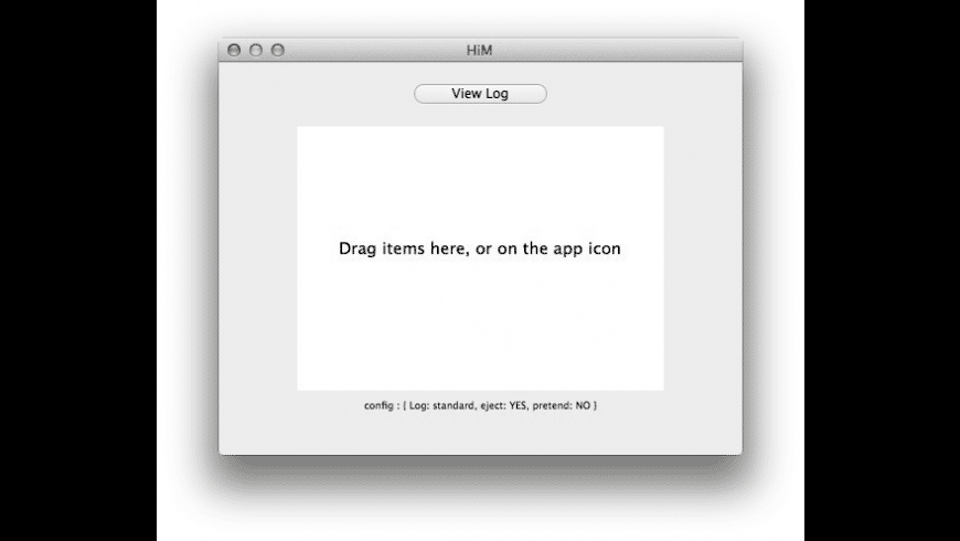 HiM for Mac - review, screenshots