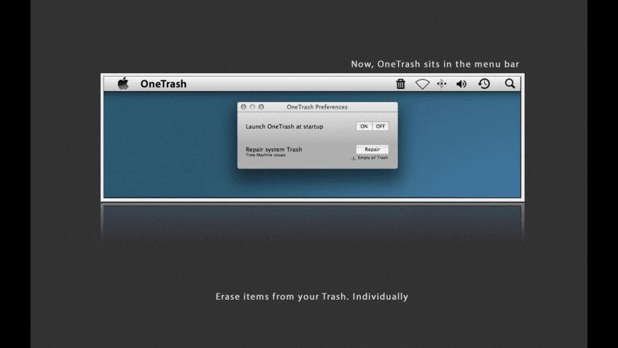 OneTrash for Mac - review, screenshots