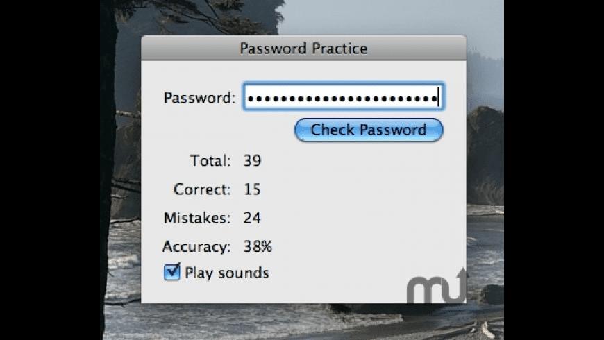 Password Practice for Mac - review, screenshots