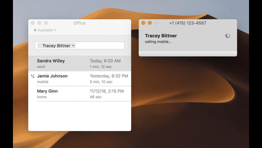 Telephone for Mac - review, screenshots