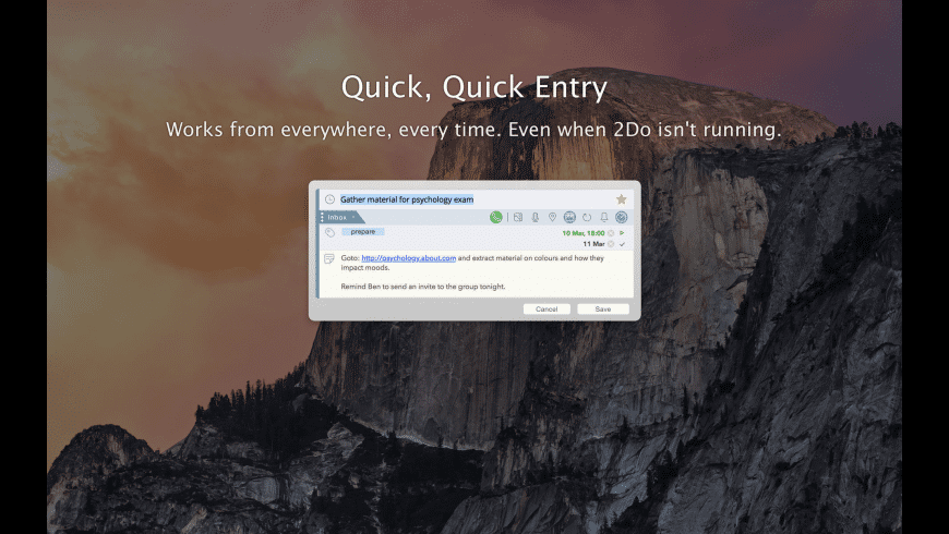 2Do for Mac - review, screenshots