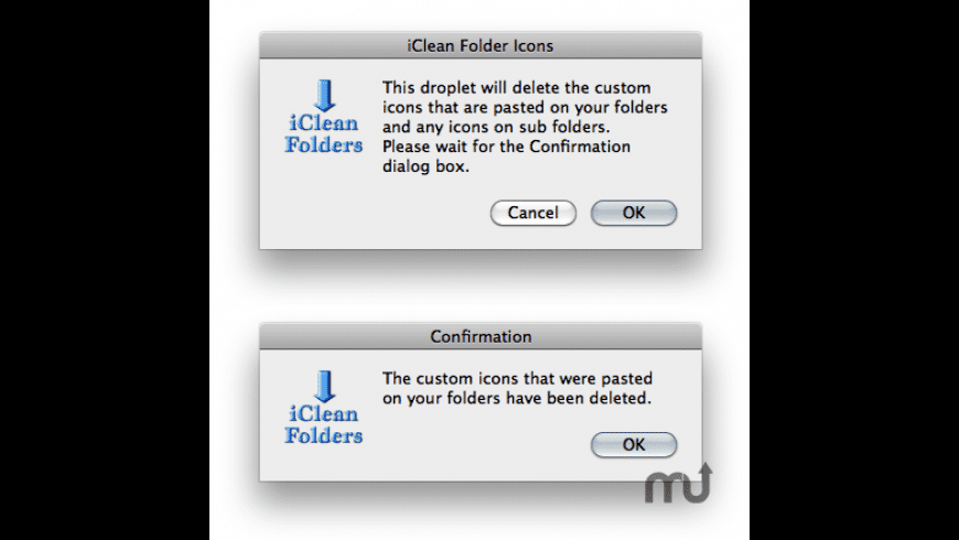 iClean Folder Icons for Mac - review, screenshots