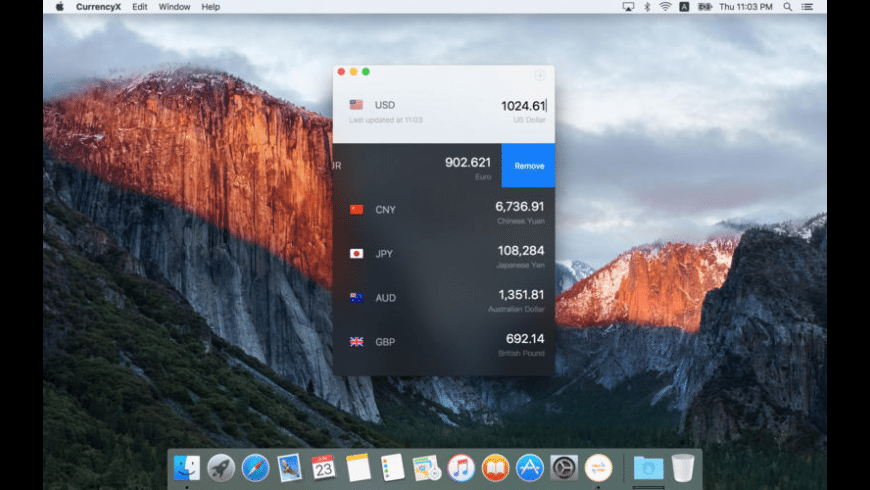CurrencyX for Mac - review, screenshots