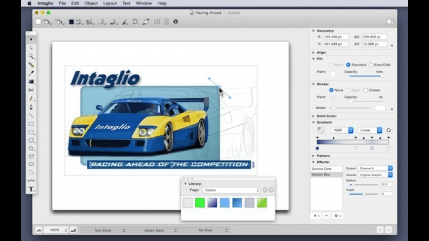 Intaglio for Mac - review, screenshots