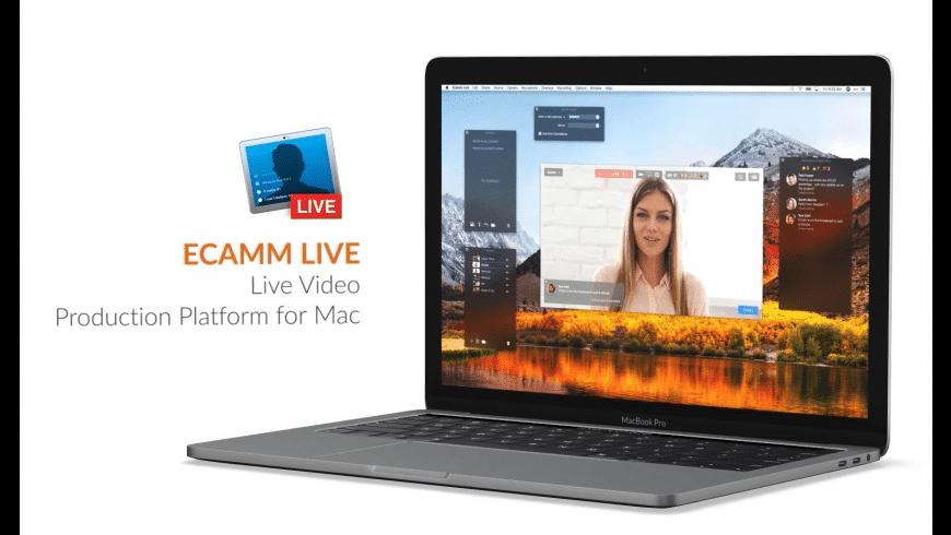 Ecamm Live for Mac - review, screenshots