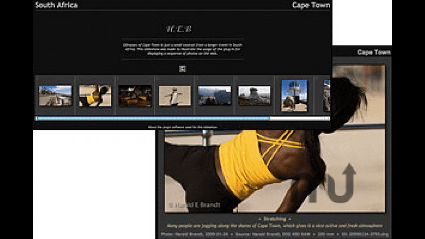 BragIt HTML Slideshow Plug-in for Mac - review, screenshots