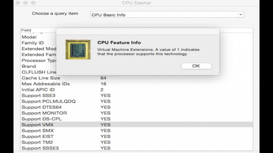 CPU Dasher for Mac - review, screenshots