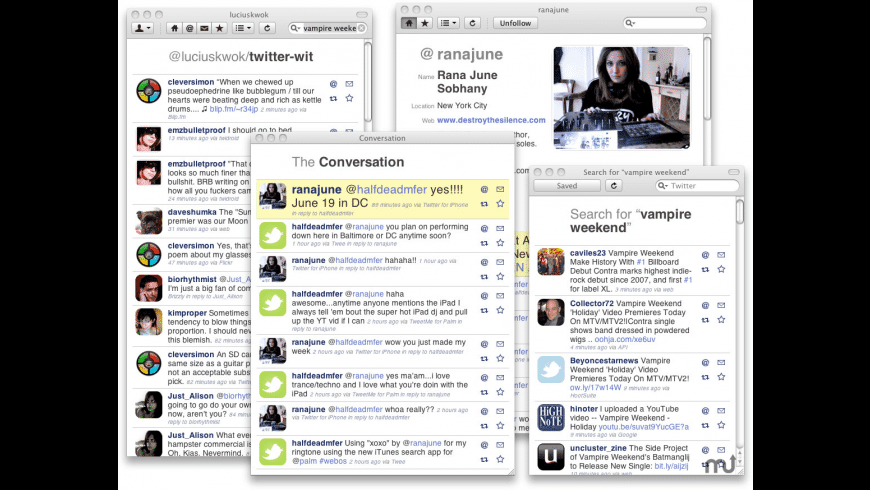 HelTweetica for Mac - review, screenshots