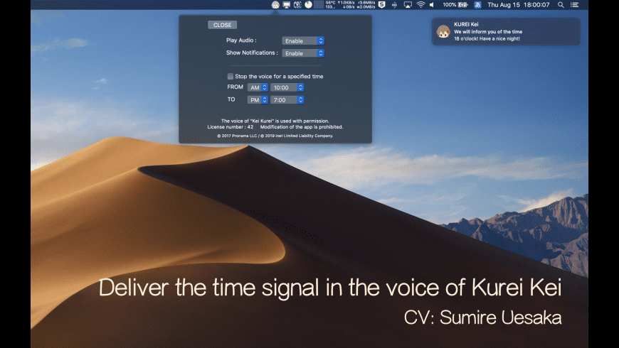 KeiSignal for Mac - review, screenshots