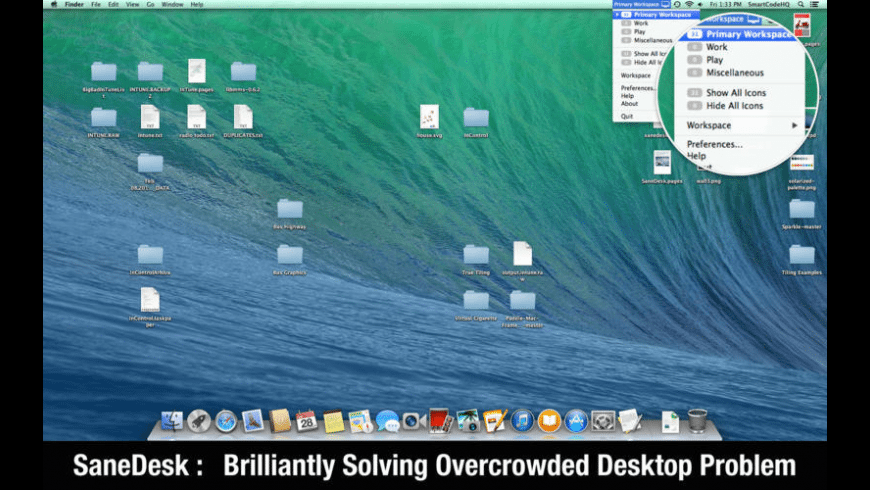 SaneDesk for Mac - review, screenshots