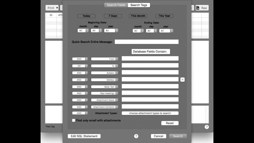 MailSteward for Mac - review, screenshots