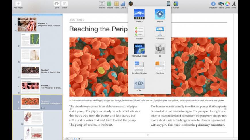 Apple iBooks Author for Mac - review, screenshots