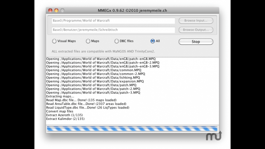MMEGx for Mac - review, screenshots