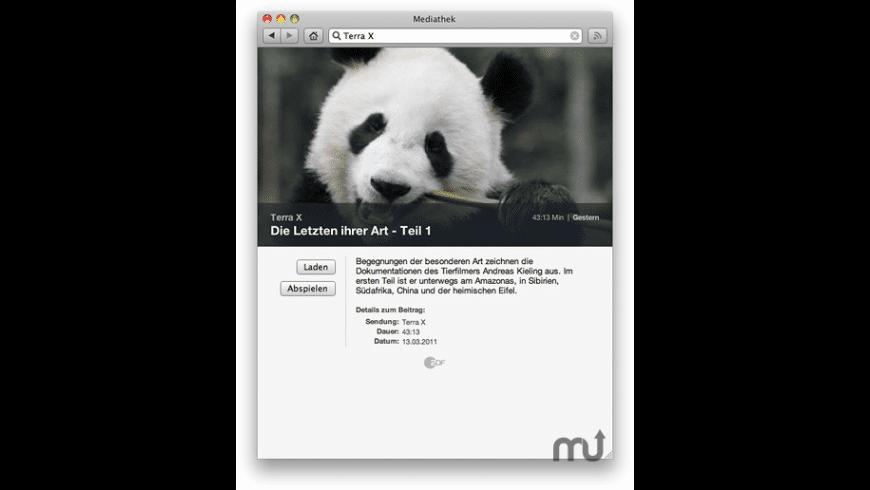Mediathek for Mac - review, screenshots
