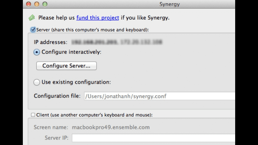 Synergy for Mac - review, screenshots