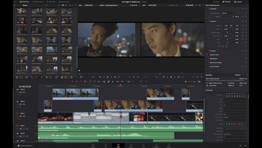 DaVinci Resolve Studio for Mac - review, screenshots